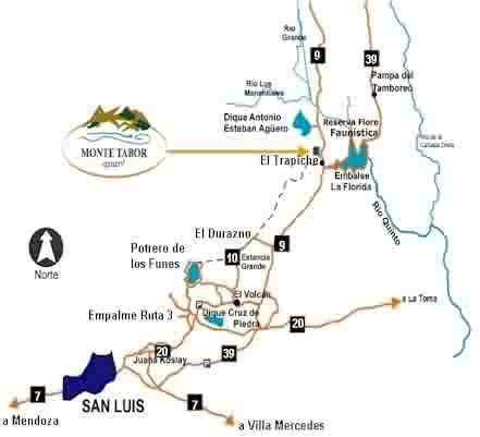 Bienvenidos a monte tabor apart el trapiche argentina for Camping en el trapiche san luis
